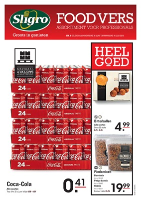 Sligro folder van 28/06/2018 tot 16/07/2018 - sligro foodvers