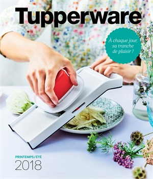 Folder Tupperware du 01/07/2018 au 31/07/2018 - promotions du mois