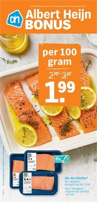 Albert Heijn folder van 06/08/2018 tot 11/08/2018 - weekpromoties
