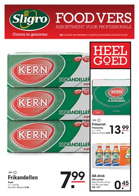 Sligro folder van 02/08/2018 tot 31/08/2018 - sligro-foodvers