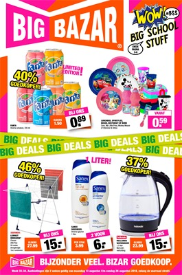Big Bazar folder van 13/08/2018 tot 26/08/2018 - weekpromoties