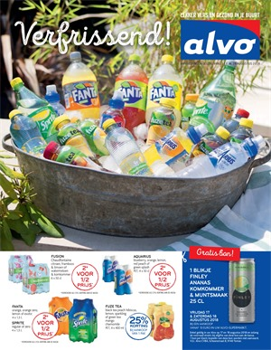 Alvo folder van 15/08/2018 tot 28/08/2018 - weekpromoties