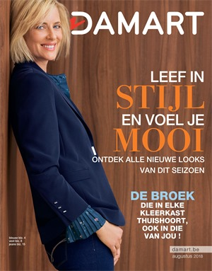 Damart folder van 20/08/2018 tot 15/12/2018 - Herstpromoties