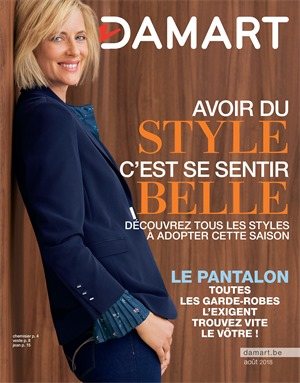 Folder Damart du 01/08/2018 au 15/12/2018 - Damart promotions du mois