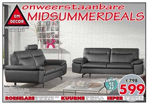 Emdecor folder van 01/08/2018 tot 31/08/2018 - Maandpromoties