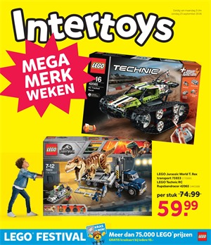 Intertoys folder van 03/09/2018 tot 23/09/2018 - September promoties