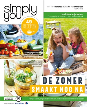 Carrefour folder van 01/09/2018 tot 30/11/2018 - Simply You