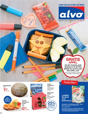 Alvo folder van 29/08/2018 tot 11/09/2018 - promoties van de week