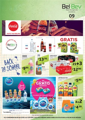 BelBev folder van 31/08/2018 tot 13/09/2018 - Weekpromos