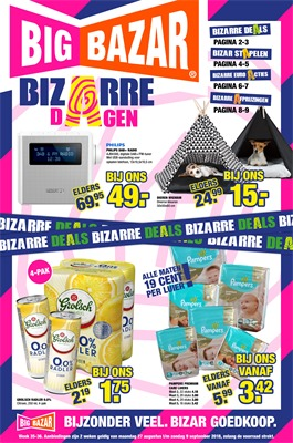 Big Bazar folder van 27/08/2018 tot 09/09/2018 - Weekpromoties