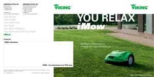 Viking Tuinmachines folder van 01/09/2018 tot 31/12/2018 - Viking Tuinmachines