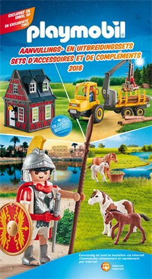 Play Mobil folder van 01/09/2018 tot 31/12/2019 - Catalogue 2018