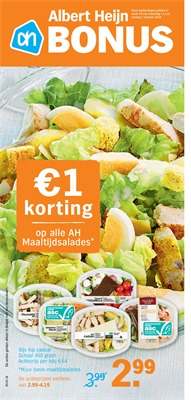 Albert Heijn folder van 01/10/2018 tot 06/10/2018 - Weekpromoties 40