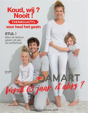 Damart folder van 01/10/2018 tot 31/10/2018 - Maandpromoties