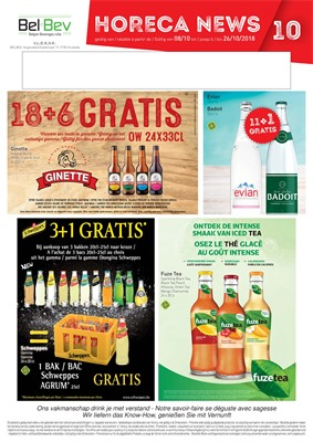 BelBev folder van 08/10/2018 tot 26/10/2018 - Weekpromoties