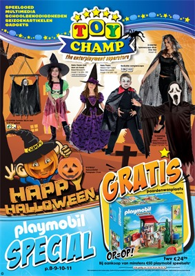 Toychamp folder van 13/10/2018 tot 28/10/2018 - Halloween