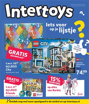 Intertoys folder van 15/10/2018 tot 04/11/2018 - Weekpromoties