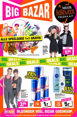 Big Bazar folder van 08/10/2018 tot 21/10/2018 - Weekpromoties