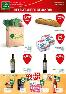Louis Delhaize folder van 10/10/2018 tot 23/10/2018 - Weekpromoties 42
