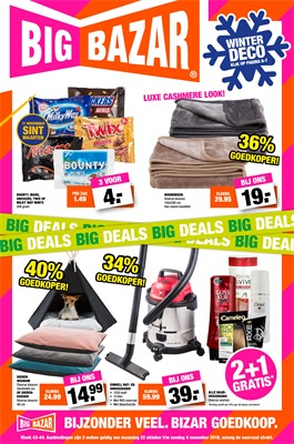 Big Bazar folder van 22/10/2018 tot 04/11/2018 - Weekpromoties