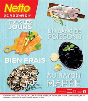 Folder Netto du 23/10/2018 au 28/10/2018 - Promotions de la semaine