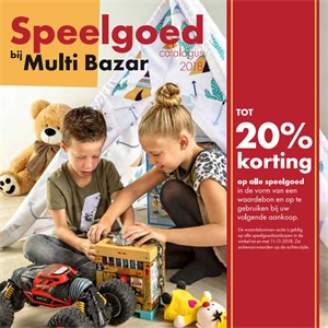 Multi Bazar folder van 23/10/2018 tot 11/11/2018 - Maandpromoties