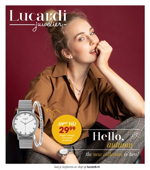 Lucardi folder van 23/10/2018 tot 15/11/2018 - weekpromoties