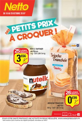 Folder Netto du 16/10/2018 au 28/10/2018 - Promotions de la semaine