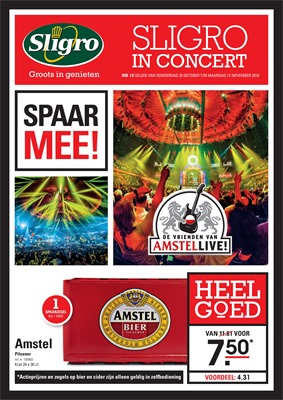 Sligro folder van 25/10/2018 tot 12/11/2018 - In Concert