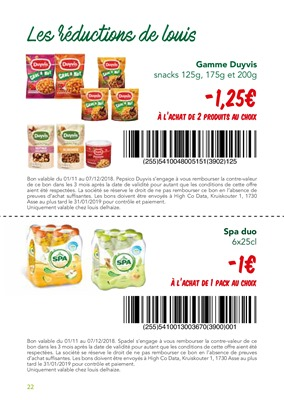 Folder Louis Delhaize du 01/11/2018 au 07/12/2018 - Coupons de réduction