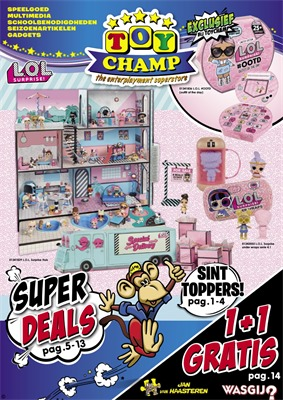 Toychamp folder van 13/10/2018 tot 09/12/2018 - Superdeals