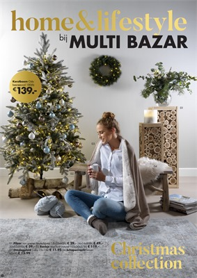 Multi Bazar folder van 01/11/2018 tot 31/12/2018 - Christmas collection