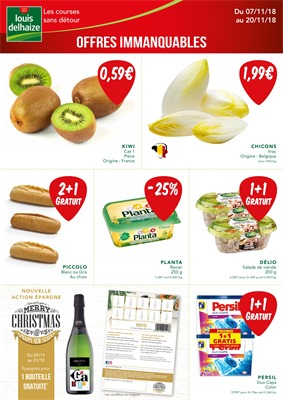 Folder Louis Delhaize du 07/11/2018 au 20/11/2018 - Promotions de la semaine 46