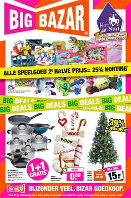 Big Bazar folder van 19/11/2018 tot 02/12/2018 - promoties van de week