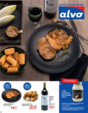 Alvo folder van 21/11/2018 tot 04/12/2018 - weekpromoties