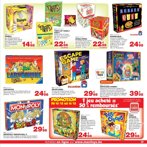 16122018 Promotions Folder Du Maxi 26112018 Mois Toys Au bIymf6Yg7v