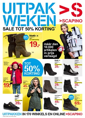 Scapino folder van 19/11/2018 tot 09/12/2018 - Weekpromoties
