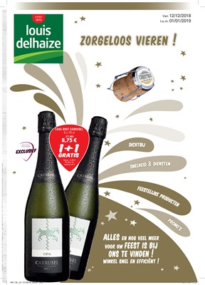 Louis Delhaize folder van 12/12/2018 tot 01/01/2019 - Maandpromoties