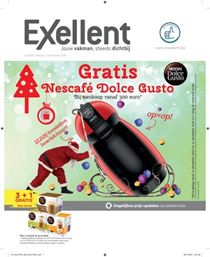 Actie dolce gusto