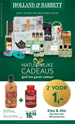 Holland & Barrett folder van 03/12/2018 tot 01/01/2019 - Maandpromoties