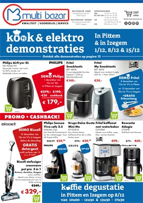 Multi Bazar folder van 01/12/2018 tot 31/01/2019 - Maandpromoties