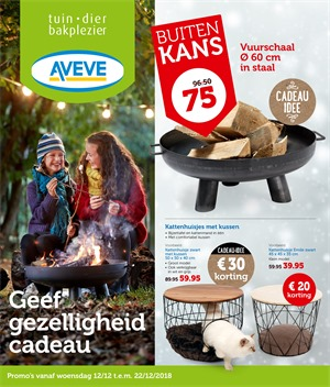 Aveve folder van 12/12/2018 tot 22/12/2018 - weekpromoties
