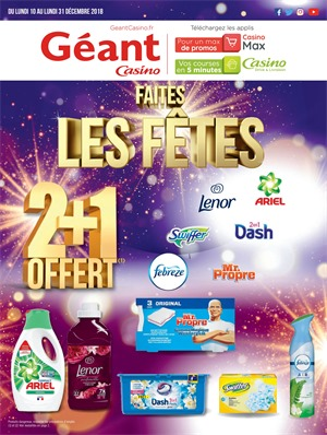 Folder Géant Casino du 10/12/2018 au 31/12/2018 - Promotions du mois