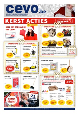 Cevo folder van 20/12/2018 tot 02/01/2019 - weekpromoties