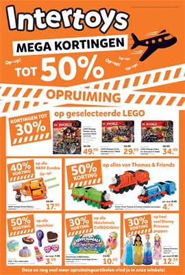 Intertoys folder van 27/12/2018 tot 20/01/2019 - Maandpromoties