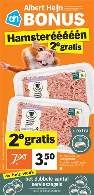 Albert Heijn folder van 01/01/2019 tot 06/01/2019 - weekpromoties