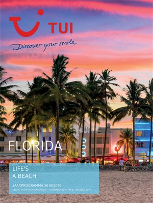 Tui folder van 01/01/2019 tot 04/02/2019 - Florida