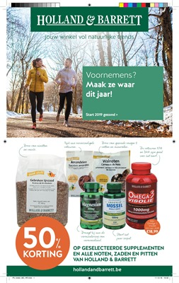Holland & Barrett folder van 01/01/2019 tot 31/01/2019 - Maandpromoties