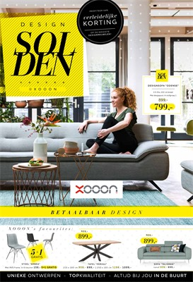 XOOON  folder van 03/01/2019 tot 24/02/2019 - Maandpromoties