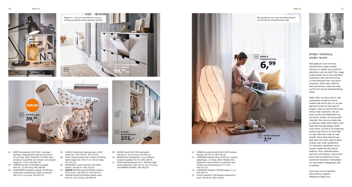 Folder Ikea van 01012019 tot 31072019 Catalogus